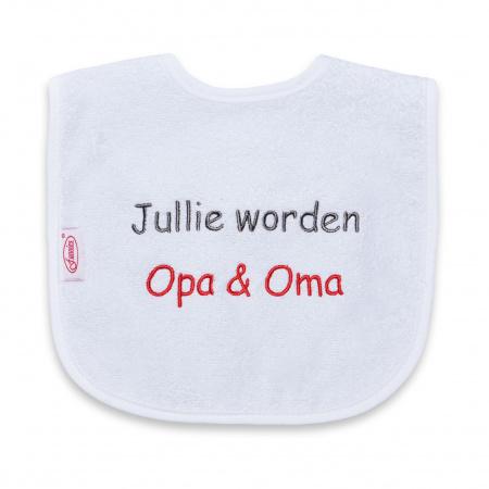 Funnies Slab Jullie Worden Opa & Oma