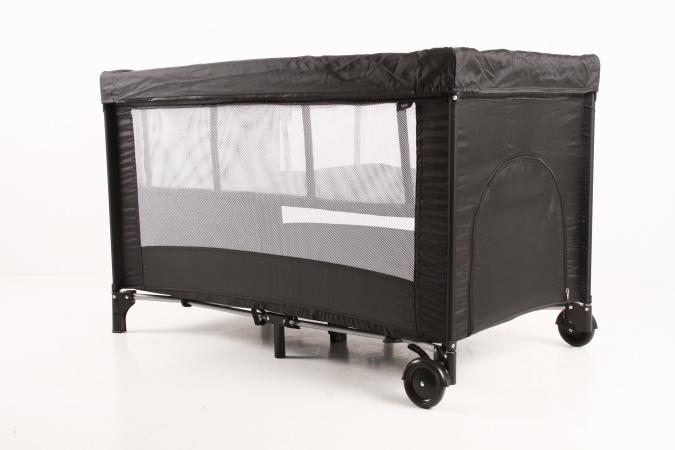 Kekk Campingbed Luxe Zwart