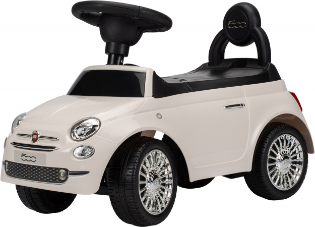 Puck Loopauto Fiat Creme Wit