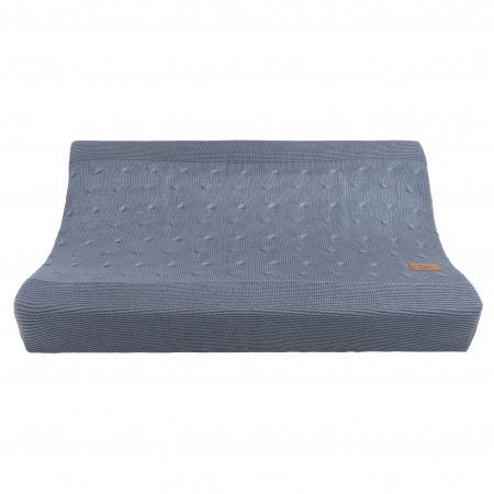 Baby's Only Aankleedkussenhoes Kabel Granit 45 x 70 x 8 cm