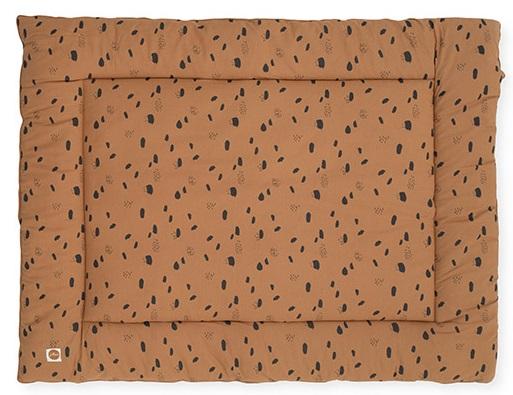 Jollein Boxkleed Spots Caramel <br> 80 x 100 cm