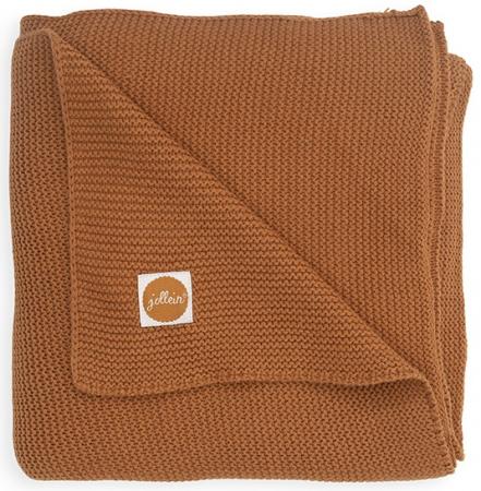 Jollein Wiegdeken Basic Knit Caramel 75 x 100 cm