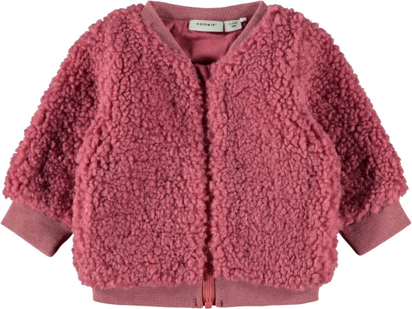 Name It Vest Roteddy Slate Rose