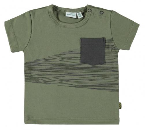 Babylook T-Shirt Korte Mouw Pocked Deep Lichen Green