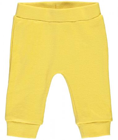 Babylook Broek Rib Misted Yellow