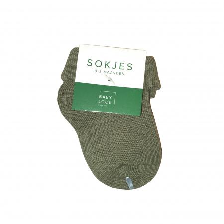Babylook Sokjes Deep Lichen Green