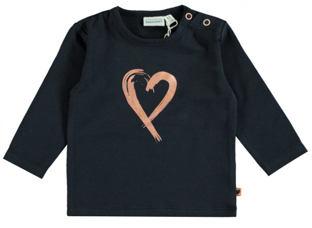 Babylook T-Shirt Heart Total Eclipse