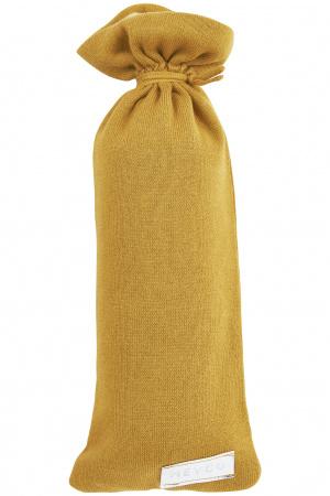 Meyco Kruikenzak Knit Basic Honey Gold