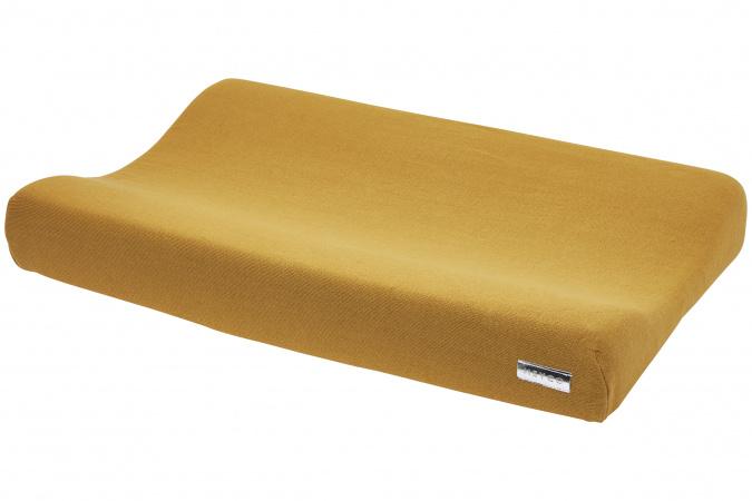 Meyco Aankleedkussenhoes Knit Basic Honey Gold