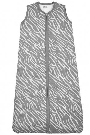 Meyco Slaapzak Winter Zebra Grijs 90cm