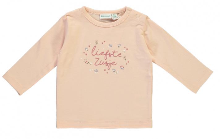 Babylook T-Shirt Liefste Zusje Evening Sand