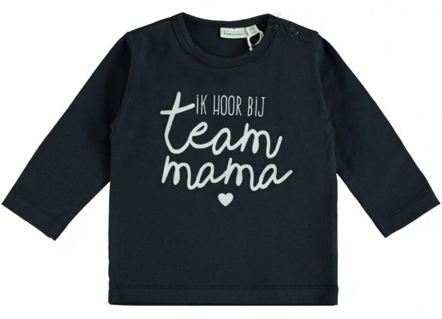 Babylook T-Shirt Team Mama Total Eclipse