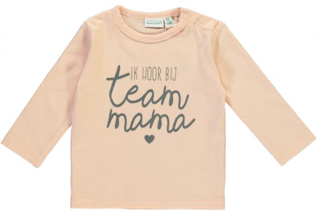 Babylook T-Shirt Team Mama Evening Sand