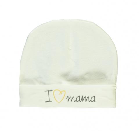 Babylook Muts I Love Mama Snow White