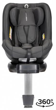 Kidsriver Silas i-Size Zwart