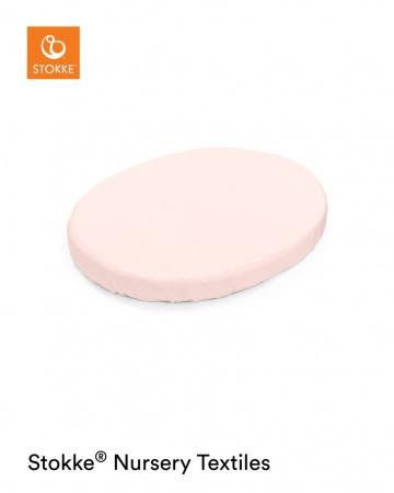 Stokke® Sleepi™ Mini Hoeslaken Peachy Pink