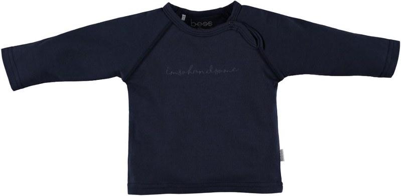 BESS T-Shirt I'm So Handsome Blue