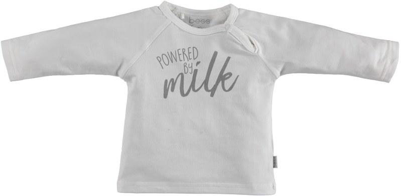 BESS T-Shirt Powerd By Milk White