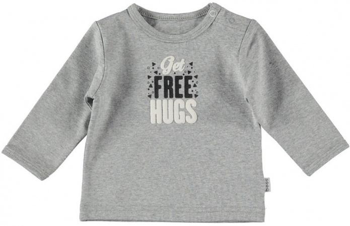 BESS T-Shirt Free Hugs Grey