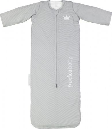Puckababy Slaapzak 4 Seizoenen The Bag Grey Stripe 100cm