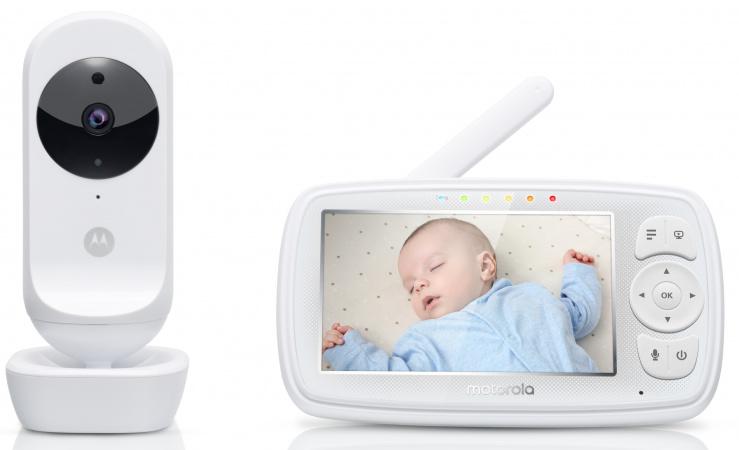 Motorola Ease44 Connect Wifi Beeldbabyfoon