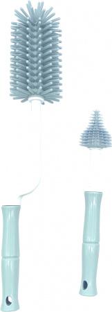 Bo Jungle Flessenborstel B-Bottle Brush Set Blue