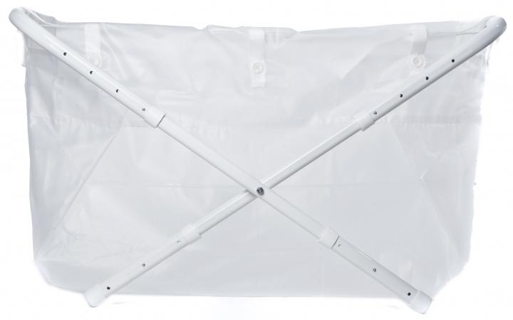 BiBaBad Wit  60-80 cm