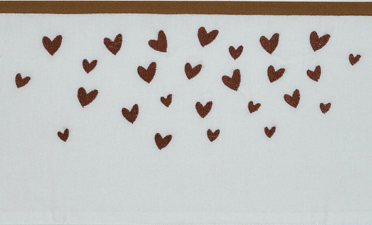 Meyco Wieglaken Hearts Camel<br> 75 x 100 cm