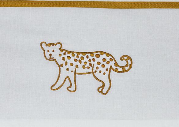 Meyco Ledikantlaken Cheetah Honey Gold<br> 100 x 150 cm