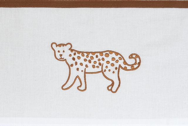 Meyco Ledikantlaken Cheetah Camel<br> 100 x 150 cm