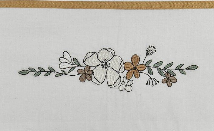 Meyco Ledikantlaken Floral<br> 100 x 150 cm