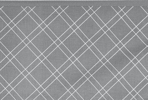 Meyco Ledikantlaken Double Diamond Grey <br> 100 x 150 cm