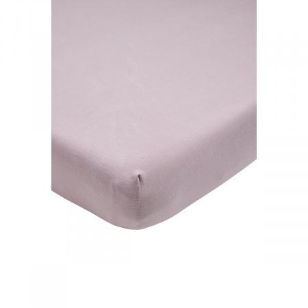 Meyco Ledikanthoeslaken Jersey Lilac <br/ >60 x 120 cm
