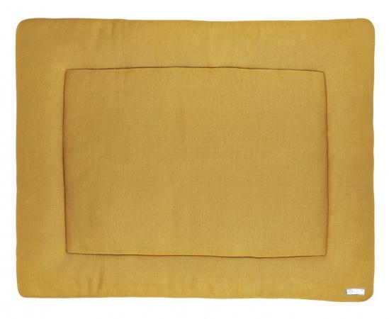 Meyco Boxkleed Knit Basic Honey Gold<br> 77 x 97 cm
