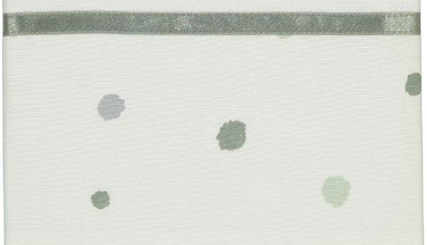 Briljant Ledikantlaken Sunny Groen <br>100 x 150 cm