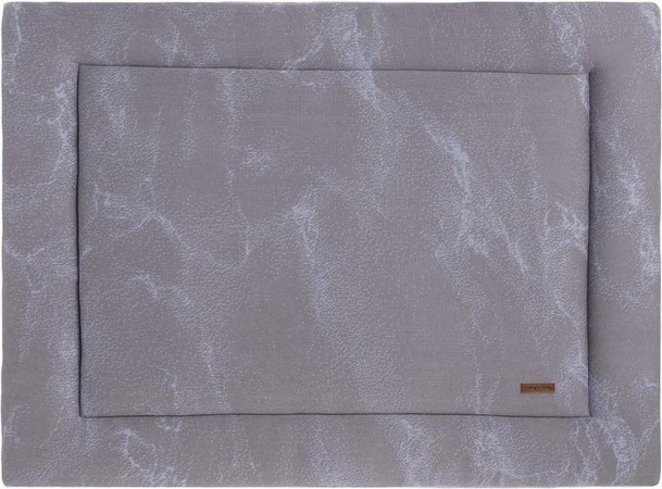 Baby's Only Boxkleed Marble Cool Grey/Lila <br> 80 x 100 cm