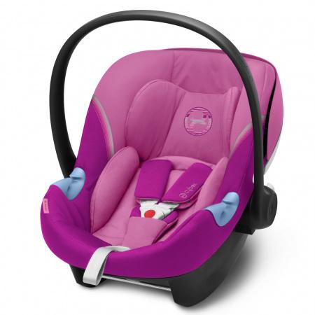 Cybex Aton M i-Size Magnolia Pink/Purple