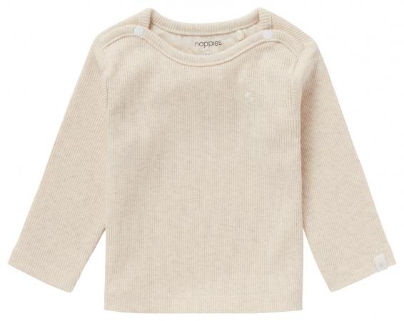 Noppies T-Shirt Rib Natal Oatmeal
