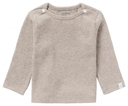 Noppies T-Shirt Rib Natal Taupe Melange