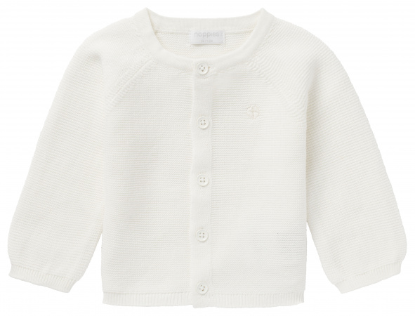 Noppies Vest Knit Naga White