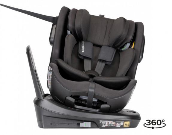 Kidsriver Premium Comfort i-Size Black