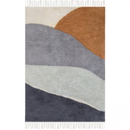 Little Dutch Vloerkleed Horizon Blue 130 x 90 cm