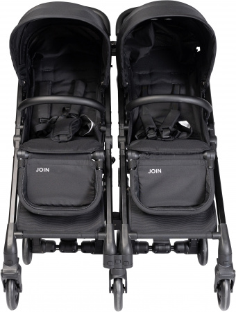 Puck Join Twin Buggy Black