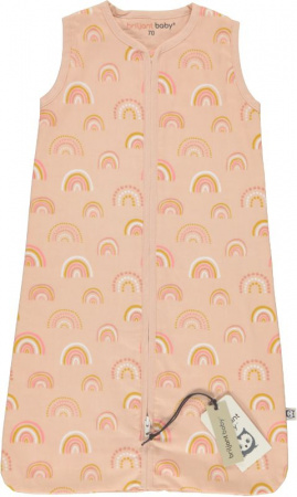Briljant Slaapzak Zomer Rainbow Pink 90cm