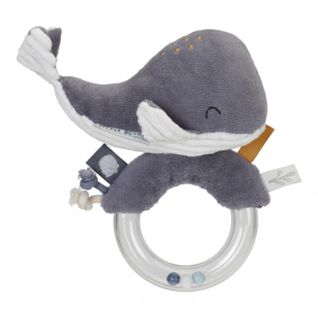 Little Dutch Walvis Ringrammelaar Ocean Blue