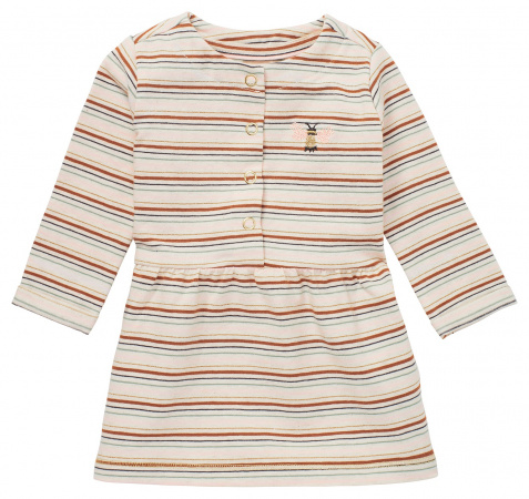 Noppies Jurk Morinville Stripe Oatmeal