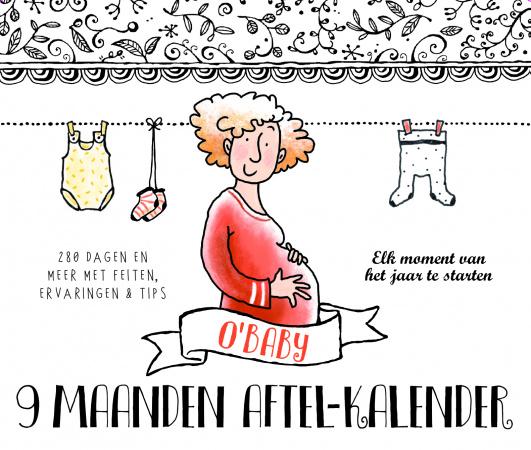 O'Baby 9 Maanden Aftel-Kalender