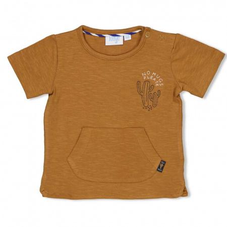 Feetje T-Shirt Korte Mouw Chill On Camel