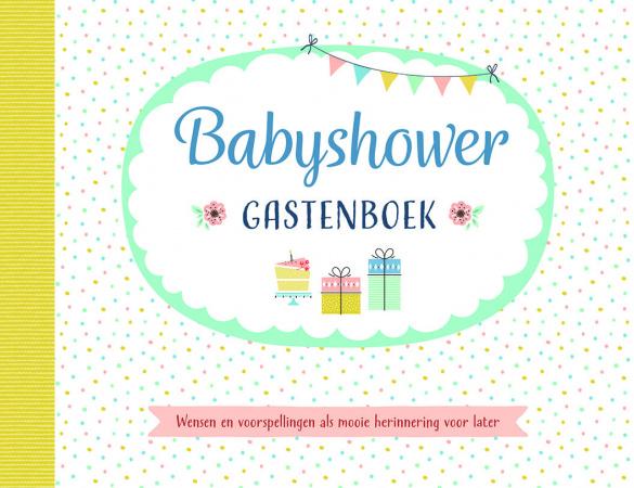 Deltas Babyshower Gastenboek