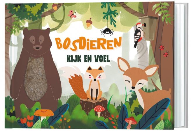 Lantaarn Publishers Kijk En Voel - Bosdieren